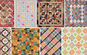 5 tips for precuts - 64 quilt patterns - fabric giveaway! - Stitch ... & From Perfect Quilts from Precut Fabrics Adamdwight.com
