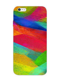 Designer Mobile Phone Covers India Colourful Brush Strokes Artsy Pattern Designer Mobile
