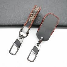 100% <b>кожаный чехол для ключа</b> автомобиля держатель для Kia ...