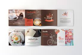 Coffee Shop Brochure Template Coffee Shop FREE Brochure Template For Illustrator Pagephilia 4
