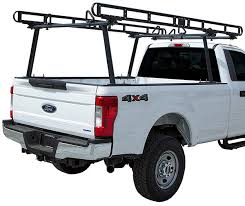 Buyers 1501410 Black Powder Coated Aluminum Pickup Truck Ladder Rack