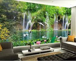 Beibehang Kustom Wallpaper Pemandangan ...