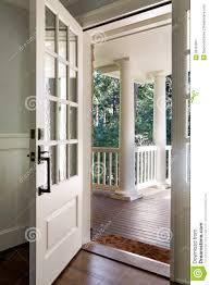 front door inside open. Plain Inside Tiptop Front Door Open Vertical Shot Of An Open Wooden Front Door Stock  Photo Image For Inside Open O