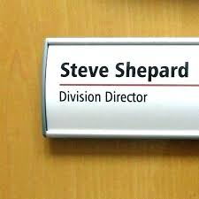 Office Name Plate Template Dinner Name Plate Template