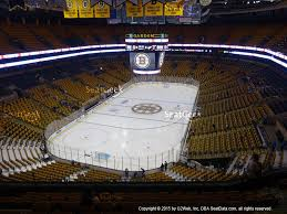 boston td garden. Boston Bruins At TD Garden Balcony 322 View Td /