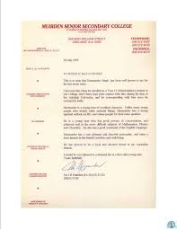 Letter Of Appreciation From Australia Dr Harmander Singh Get