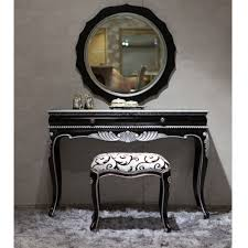 Black Antique Vanity Antique Furniture