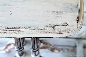 distressed shabby chic white table petticoat junktion t81