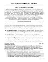 Resume Results Driven Resume