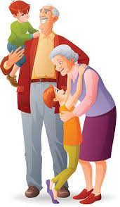 Image result for grandparents on computers animated