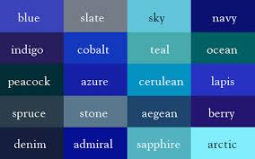 These neat charts will help you name the colors properly
