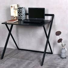 folding computer desk folding computer desk laptop table study workstation wood top metal frame new folding folding computer desk with keyboard tray