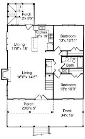 Tremont Cove Vacation Lake Home Plan 024D0008  House Plans And MoreVacation Home Floor Plans