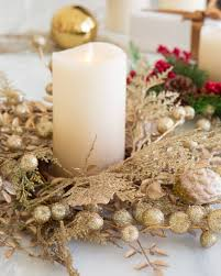 ... Champagne Holiday Candle Rings, Set of 3 by Balsam Hill ...