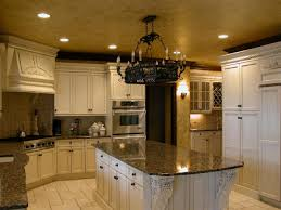 Yellow And Black Kitchen Decor White Island Also Cabinetry With Black Granite Countertop Also