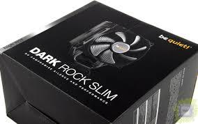 Обзор процессорного <b>кулера be quiet</b>! <b>Dark</b> Rock Slim ...