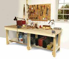 how to build a workbench mother earth