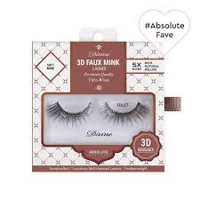 Divine <b>3D</b> Faux <b>Mink Lashes</b> - Ultra-Wispy <b>False</b> Eyelashes ...