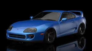 Toyota Supra MK4 3D Model in Sport Cars 3DExport