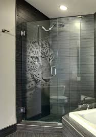etched glass shower door designs etched glass shower door designs custom etched glass shower door with