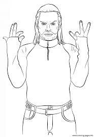 Small Picture wwe jeff hardy coloring page Coloring pages Printable