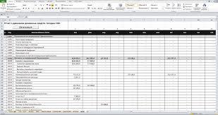 Консолидированный отчет о движении денежных средств в excel Лист Отчет о движении денежных средств