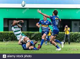 Treviso, Italy. 25th Sep, 2021. Monty Ioane (Benetton Treviso) during Benetton  Rugby vs DHL Stormers, United