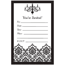 template for 50th birthday invitations free printable free free printable black and white birthday invitation