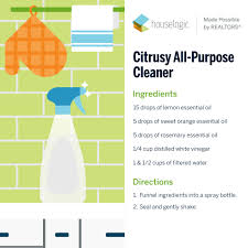 citrusy all purpose cleaner