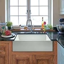 24 farmhouse sink x a base