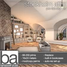furniture attic. ba stockholm attic skybox and furniture