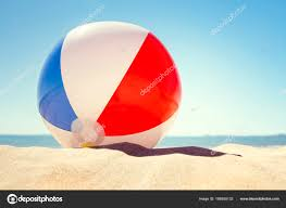 beach ball in sand. Delighful Beach Beach Ball On Sand Dune Concept For Childhood Summer Vacations U2014 Photo By  BrianAJackson For Ball In Sand N