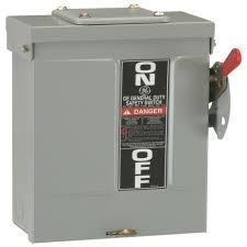 electrical disconnects power distribution the home depot Eaton 200 Amp Fuse Box 200 amp 240 volt fusible outdoor general duty safety switch 200 Amp Fuse Block