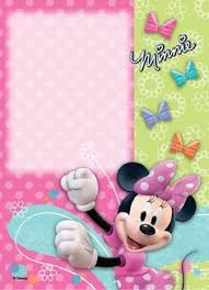 Minnie Mouse Birthday Party Invitation Template Free | Free Birthday ...
