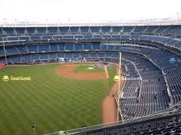 yankee stadium grandstand level 434 a view