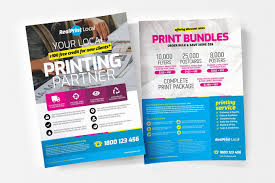 Pamphlet Designs For Stationery Shop Print Shop Templates Pack Ad Ad Features Layout Text