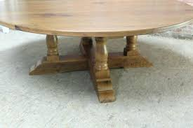x 84 tablet inch round dining table with pedestal lake and
