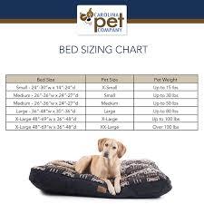 Pet Bed Size Chart Carolina Pet Company Sherpa Puff Ball Pet Bed