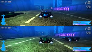 future aero racing 2 players gameplay image in db