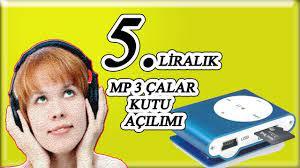 5 Liralık Mp 3 Çalar Kutu Açılımı (Mp3 Çalara Nasıl Şarkı Yüklenir?) -  YouTube