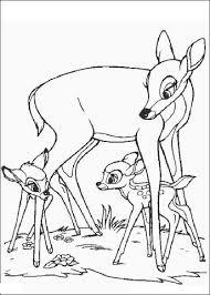 Disegno Di Bambi Fiore E La Mamma Da Colorare Disegni Da Colorare