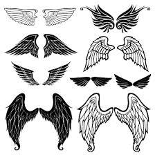 B ベクター 鳥の翼天使の羽根ロゴのイラストaieps ベクタークラブ