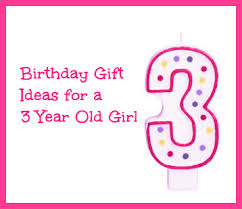 Birthday gifts for 3 year old girls Gift Ideas Year Old Girls - Outside The Box