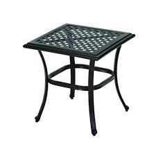 hampton bay fall river patio side table d11034 ts the