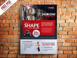 Club Flyer Templates Free Gym And Fitness Club Flyer Template Free Psd Psdfreebies Com