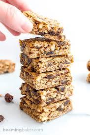 oatmeal raisin cookie bars vegan