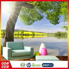 Natuur Behang Groen Behang Boom 3d Bed Kamer Behang Zelfklevend