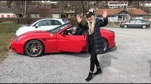 Teaching My Grandma How To Drive A Ferrari Youtube