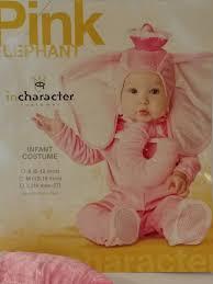 In Character Infant Pink Dumbo Elephant Costume Halloween
