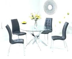 round table and chairs chair lovely glass dining table and 4 glass table dining sets